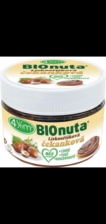 BIONUTA Lieskovorieškový čakankový krém - 250 g