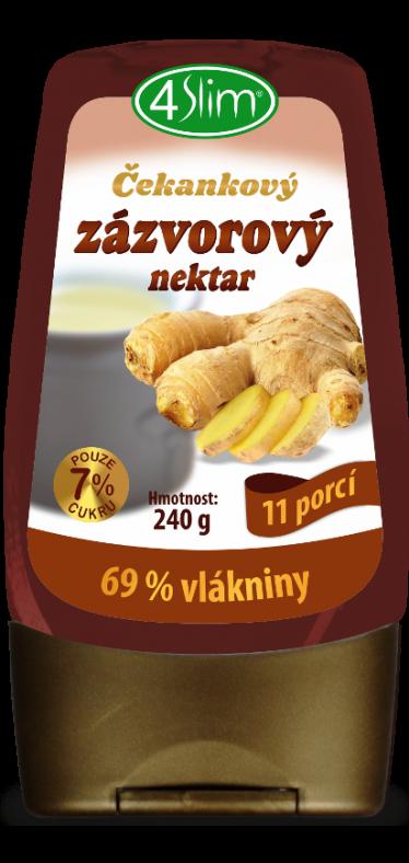 Čakankový zázvorový nektar - 240 g