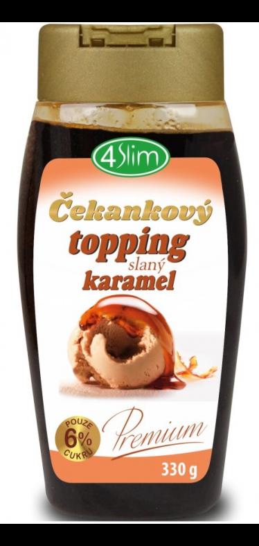Čakankový topping slaný karamel - 330 g